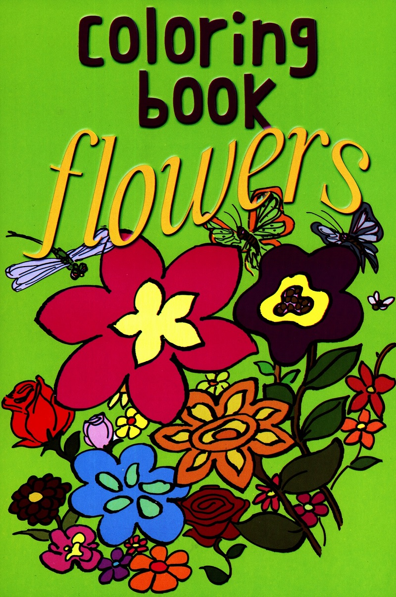 Flowers Coloring Book — Anvil Publishing, Inc.