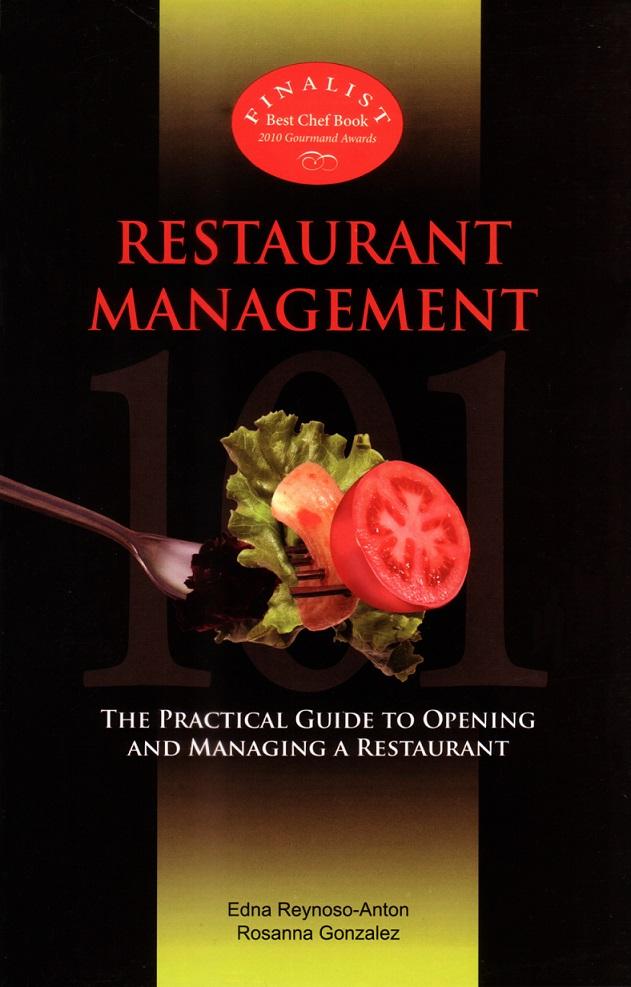 Restaurant management 101 anvil publishing inc for Cuisine 101 incorporated