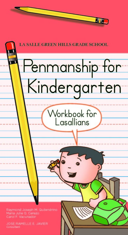 Penmanship for Kindergarten