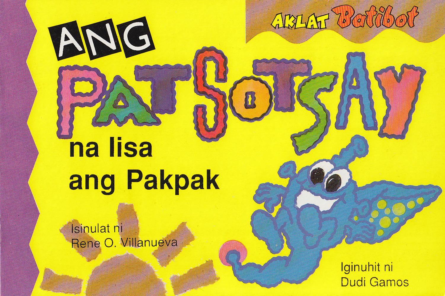 Ang patsotsay na iisa ang pakpak
