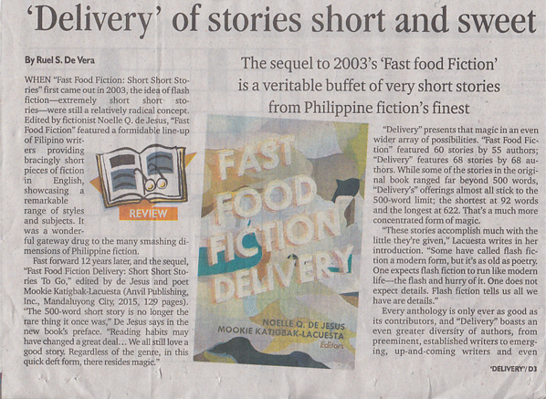 deliveries of story short and sweet