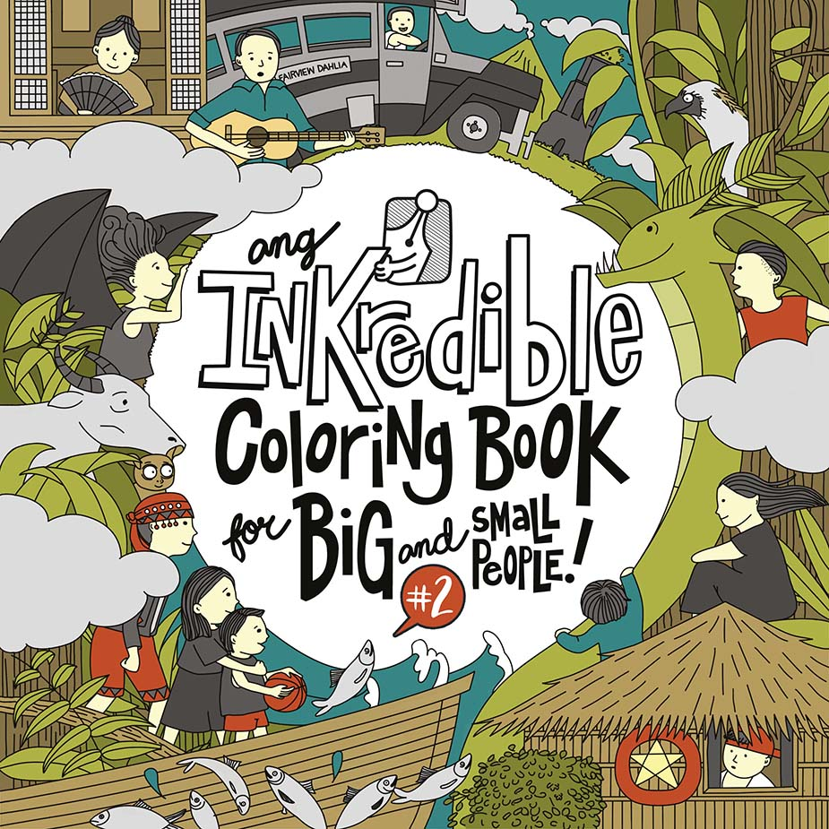 Ang Inkredible Coloring Book For Big And Small People
